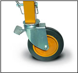 Crawler Scaffold - Casters