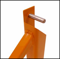 Scaffold Outrigger locking pin
