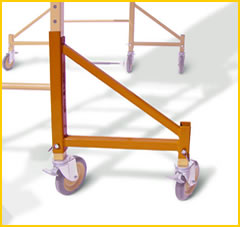 Crawler Scaffold Outrigger